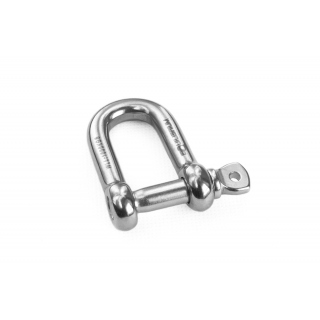 Shackle D 10 mm stainless steel