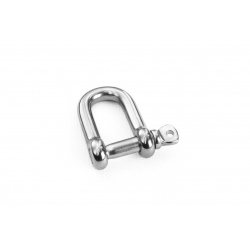 Shackle D 8 mm stainless steel