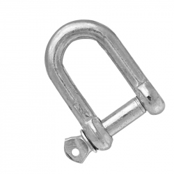 Shackle D 12 mm zinc-coated