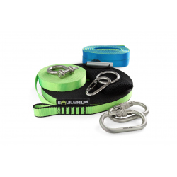 Slacker Slackline Kit 30 m with Neon webbing