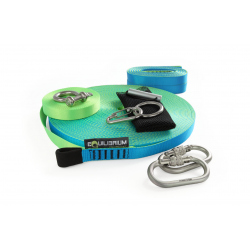 Slacker Slackline Kit 30 m with Dragon webbing
